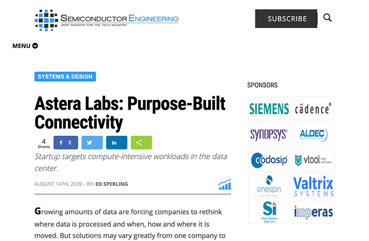 Astera Labs: Purpose Built Connectivity