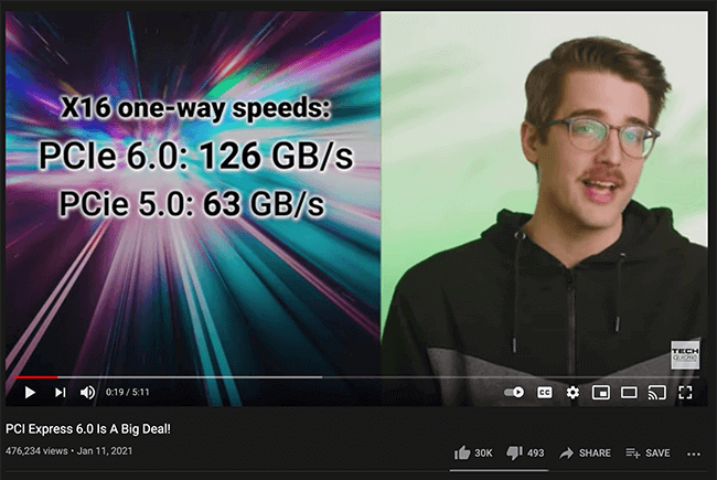 Techquickie: PCI Express 6.0 is a Big Deal!